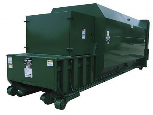 Landfill Compactor Maintenance : Garbage collection and recycling services for businesses